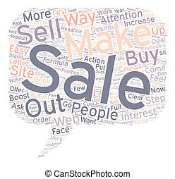How to Boost Your Sales in Easy Steps text background wordcloud concept