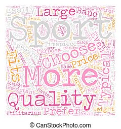 How To Choose The Right Sports Fitness Watch text background...