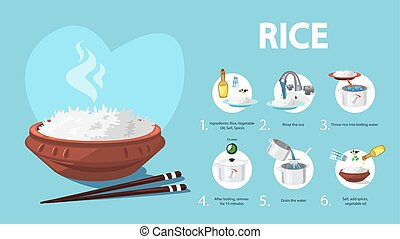 How to cook rice an easy recipe