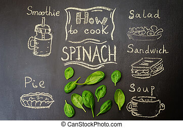 how to cook spinach with spinach on
