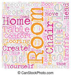 How To Create A Comfortable Room text background wordcloud concept