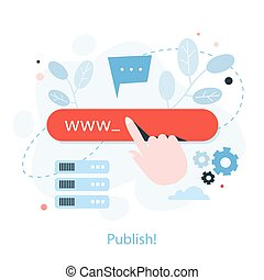 How to create a website instruction. Web banner