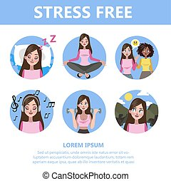 How to deal with stress guide. Depression reduce