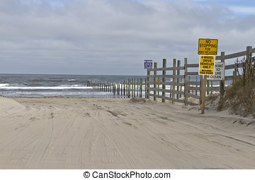 How to Drive on the Beach in the Outer Banks
