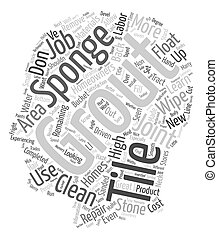 How To Grout Your Tile And Stone text background wordcloud ...