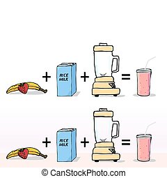 How to Make a Smoothie - Simple ingredients to make a zero...