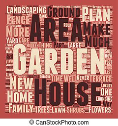 How to Make the Most of Your Garden text background wordcloud concept