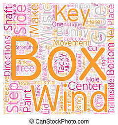 How to Make Your Own Unique Music Box text background wordcloud concept