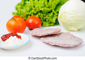 How to prepare burger