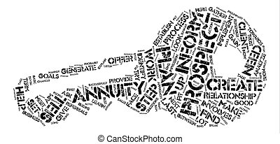 How to Sell My Annuity text background word cloud concept
