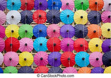 How to umbrella Arts and crafts - umbrella made ??of paper /...