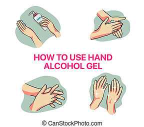 How to use hand sanitizer properly to clean and disinfect ...