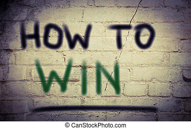 How To Win Concept