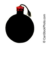 How we see a bomb - , a perception of what we think a bomb...