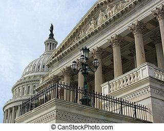 hozzánk capitol, épület, washington dc dc