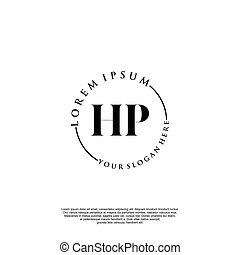 hp, tervezés, kezdő, kézírás, jel
