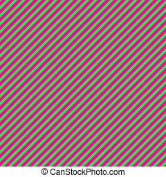 h.pink, papier, groene, diagonaal streep