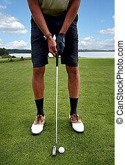 hráč golfu