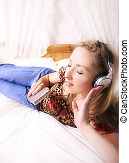 hráč, hudba