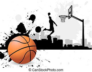hráč, košíková