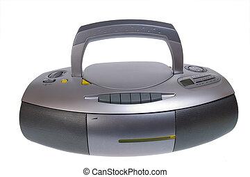 hráč, mini-system, reprodukce zvuku, rádio