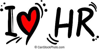 hr, miłość