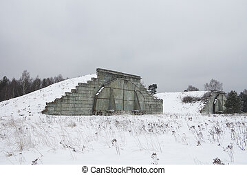Hradcany Airport is a former military airport within the area of Ralsko in Liberec Region, northern Czech Republic. Built toward the end of World War II for the Luftwaffe, it was expanded after the wa
