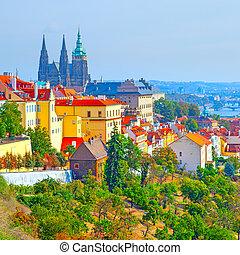 Castle District in Prague