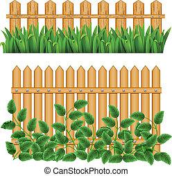 hraničit, a, fence.