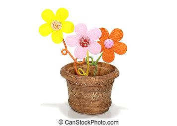 hrnec, květ