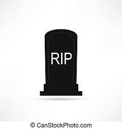 hrob, ikona