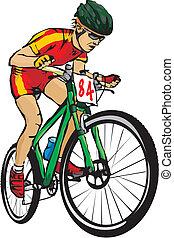 hromada čeho jezdit na kole