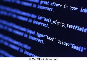 html, コード