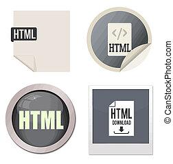 Html icon set