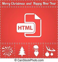 HTML Icon Vector