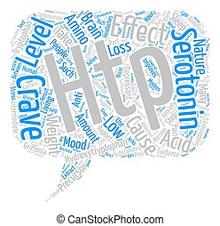 HTP Nature s Anti Depressant Word Cloud Concept Text ...