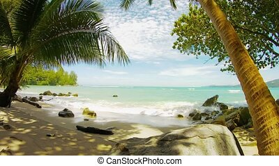 hua, gens., exotique, sans, thaïlande, plage