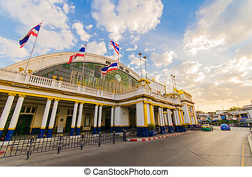hua, lamphong, σιδηροδρομικός σταθμός