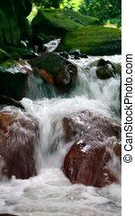 huangsi, Wasser, fließen