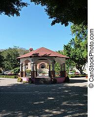 Huatulco bandstand - The bandstand in Huatulco Crucecita,...