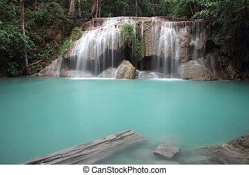 huay, cascata, maekhamin