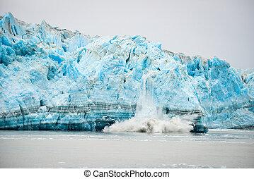 Glacier Calving - Natural Phenomenon - Hubbard Glacier ...