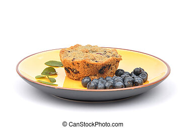 Huckleberry muffin