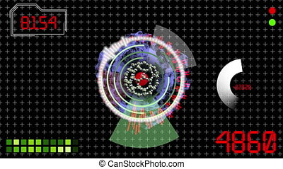 HUD Futuristic technological background - see my portfolio...