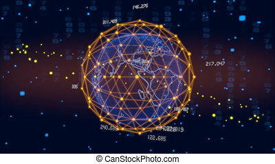 Hud Planet earth - Planet earth and various objects Hud. 3d...