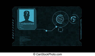 Hud. The concept of artificial intelligence and biometric...
