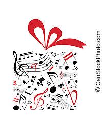 Hudba, dar