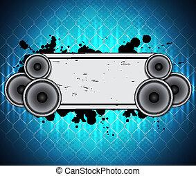 Hudba, Grafické Pozadí
