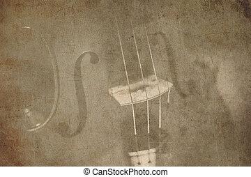 Hudba,  grunge, za, Grafické Pozadí