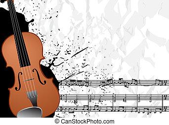 hudba, ilustrace